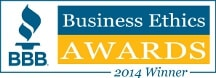 2014 BBB Business Ethics Award Winner