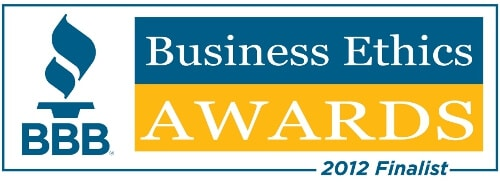 2012 BBB Business Ethics Award Finalist